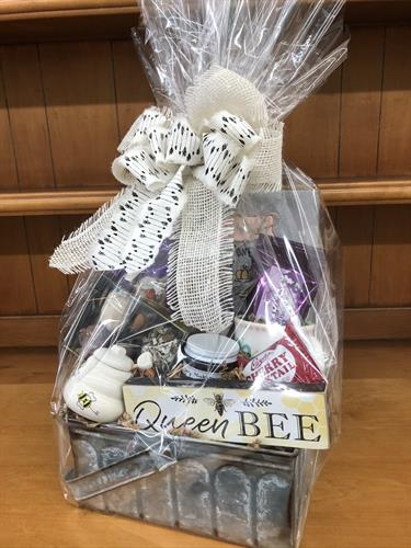 We do gift baskets and boxes.