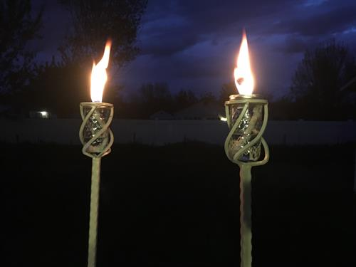 Yard Torches