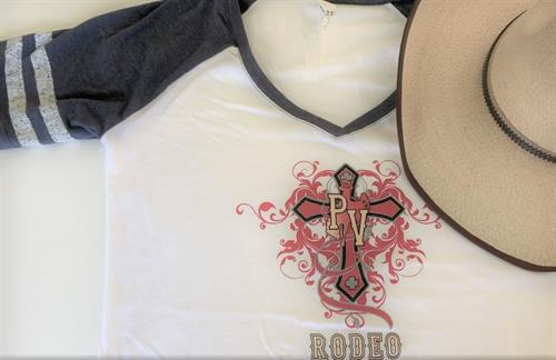 Custom T-shirt by Vicci Moto- Potter Valley Rodeo