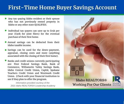 A great resource for first time home buyers!