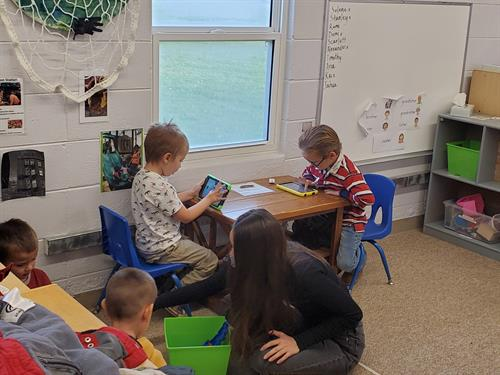 Classroom engagement.