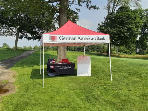 German American Bank of Seymour at the Chamber of Commerce Golf Outing!!