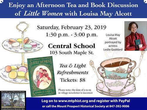 Afternoon Tea With Louisa May Alcott