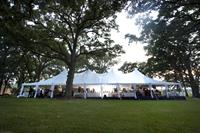 High Peak Tent Wedding