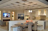 OHi Showroom Kitchen & Fireplace Area