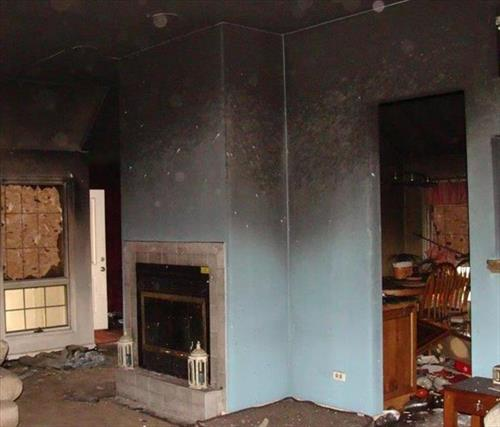 Before fire damage picture