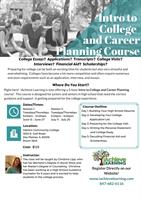 Intro to College and Career Planning Course
