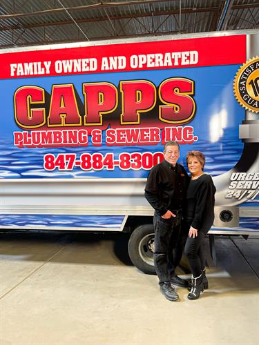 Joe and Mary Capps, Owners