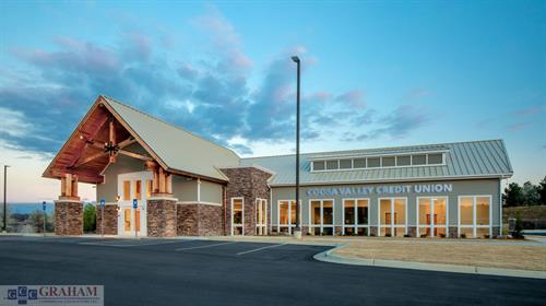 Coosa Valley Credit Union- Stand-alone retail financial institution in Cartersville, GA
