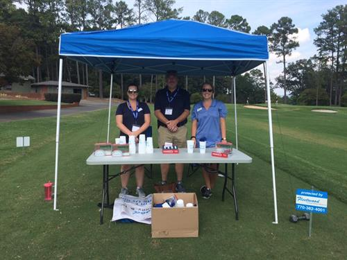 We always have a blast being a Hole Sponsor at the Chamber Golf Tournament!