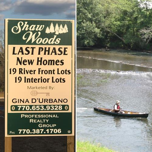 New Construction in Shaw Woods...build your DREAM HOME on the RIVER!