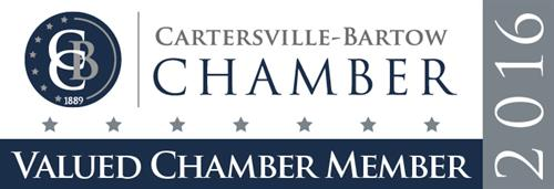 We are members of Chamber!