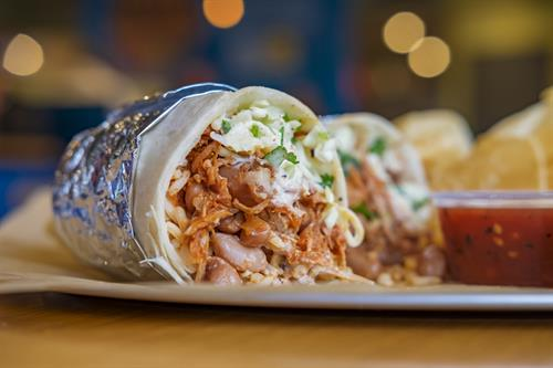 Braised Pork Burrito - a southern favorite