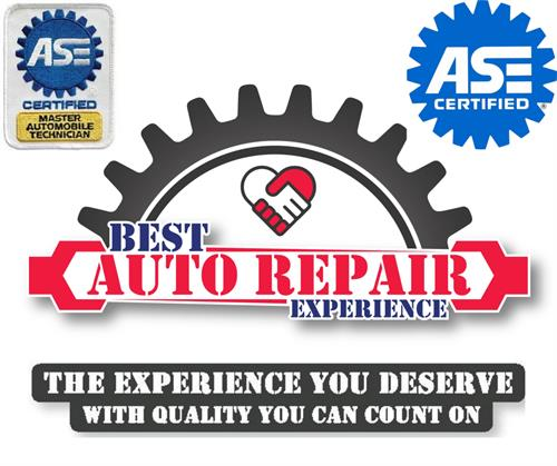 Best Auto Repair Experience - Master ASE Technicians