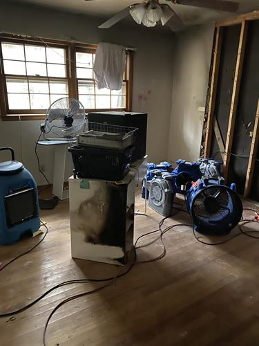 Fire/ Water damage drying