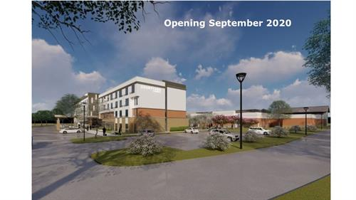 Courtyard Marriott - Opening September 2020 - Adjacent to Clarence Brown Conference Center