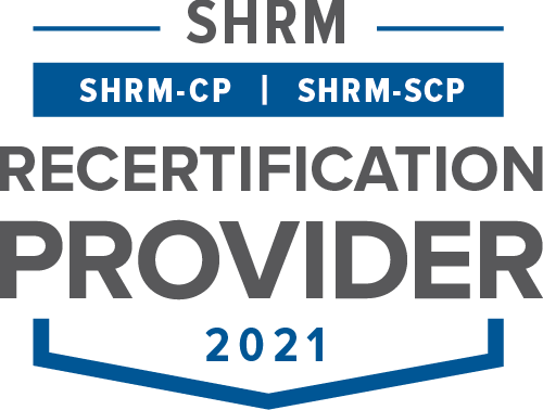 We are an SHRM PDC re-certification provider