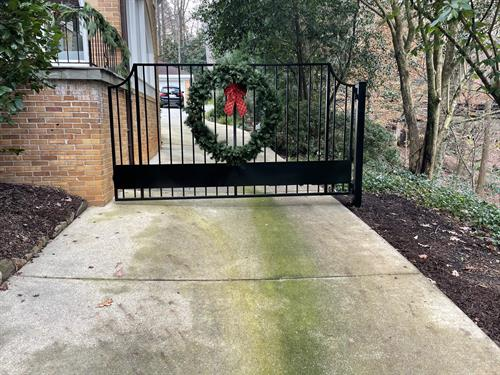 Residential Gate Install