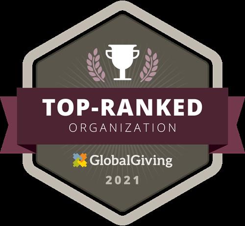 GlobalGiving Top-Ranked Nonprofit Award