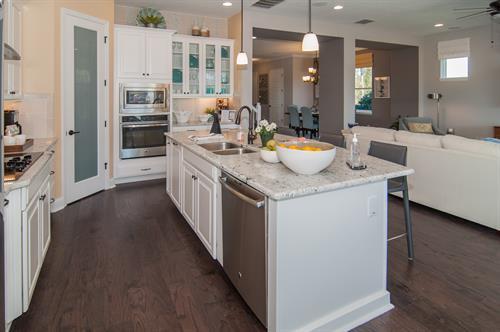 Beautiful gourmet kitchen!