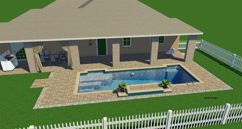 Pool with Sunshell, no Spa