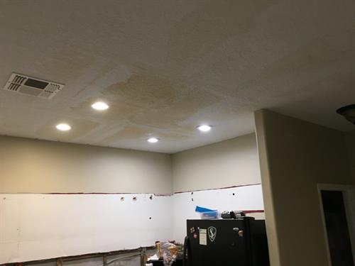 Water damage restoration and clean up ios not problem