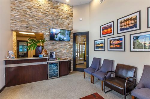 Reception Collins Dental