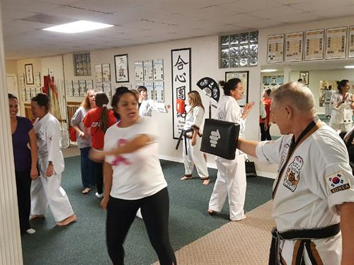 Community Womens Self Defense Lesson