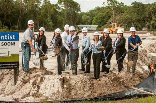 The official ground breaking of our new location on Oviedo Blvd!