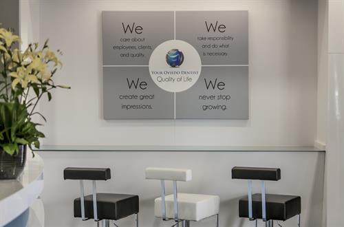 Your Oviedo Dentist's core values.