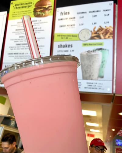 Did someone say strawberry shake?