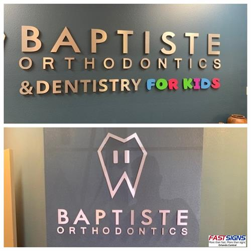 Dimensional letters to add to any wall or building! We design, print and install!