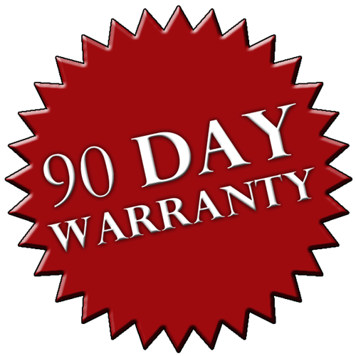 90 Day Limited Warranty Included w/ Every Home Inspection