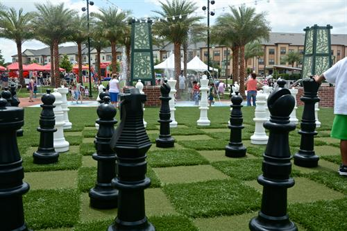 Lawn Chess at Center Lake Park