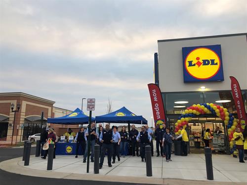 LIDL Grand Opening - Ashbrook Marketplace in Ashburn, VA