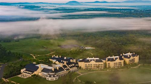 Salamander Resort & Spa aerial