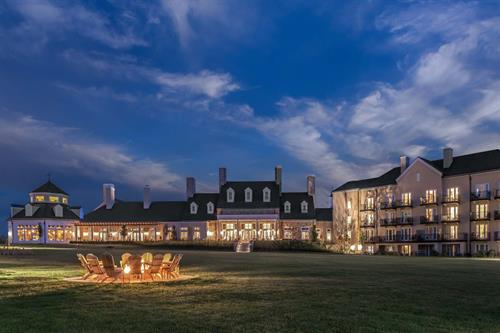 Salamander Resort & Spa grand lawn