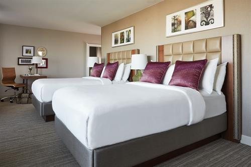 Stay in newly redesigned guestrooms inspired by Virginia Wine Country