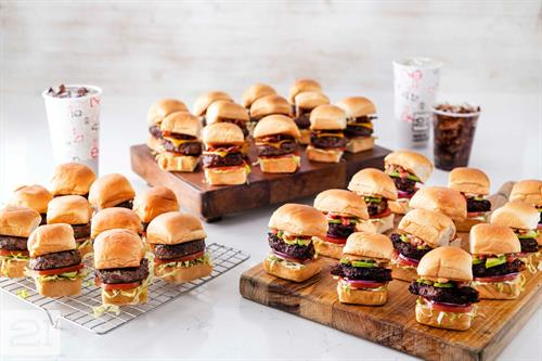 Sliders are perfect for your next catering!