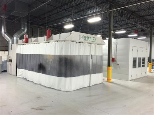 State of the Art Paint Booths