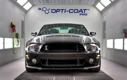 2013 Shelby GT500 after paint correction and Opri-Coat Pro