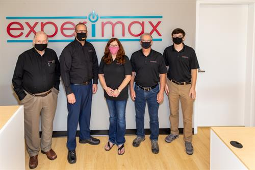 The Experimax, Leesburg Team - masked for your safety!