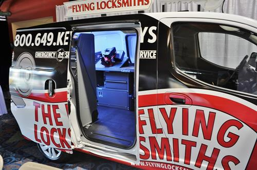 The Flying Locksmiths At the Big Connect Expo.  We come to you!