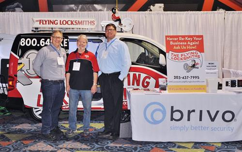 The Flying Locksmiths Partnering with Brivo Access Control