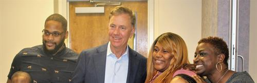 Governor Lamont's Day of Service Honors CCP Foster Parents