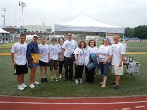 In our inaugural year at Hamden's Relay for Life, W&A rallied to become the third highest fundraising team, a fete that had never been done before.