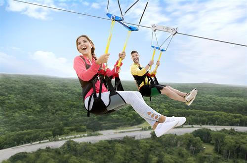 High Flyer Zip Line