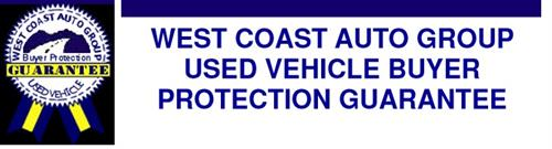 West Coast Auto Group Buyer Protection Guarantee