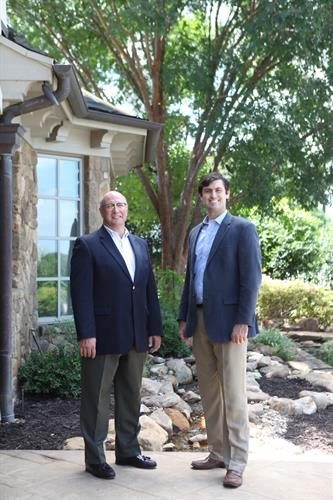 Rick Baker, vice-President and John Huffman, President Black Door Renovation