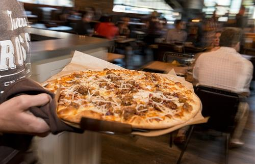 Taverna Rossa - Southlake features stone-fired artisan pizza fresh from the oven and going straight to you!